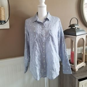 Ann Taylor Loft Button Down Top